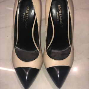 Two toned YSL platforms. Great condition worn 2x